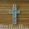 Box framed Cross Charm
