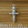 Drill Cross Charm
