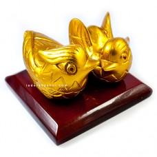 Sepasang Bebek Mandarin Gold