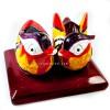 Sepasang Bebek Mandarin Warna