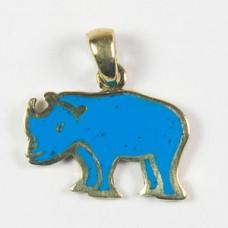 Badak Biru