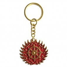 Keychain Roda Api Dharmachakra