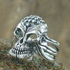 Alien Head Skull Ring